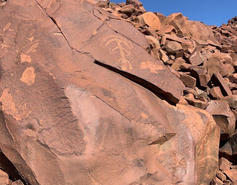 Aboriginal Rock Art - Burrup, Western Australia