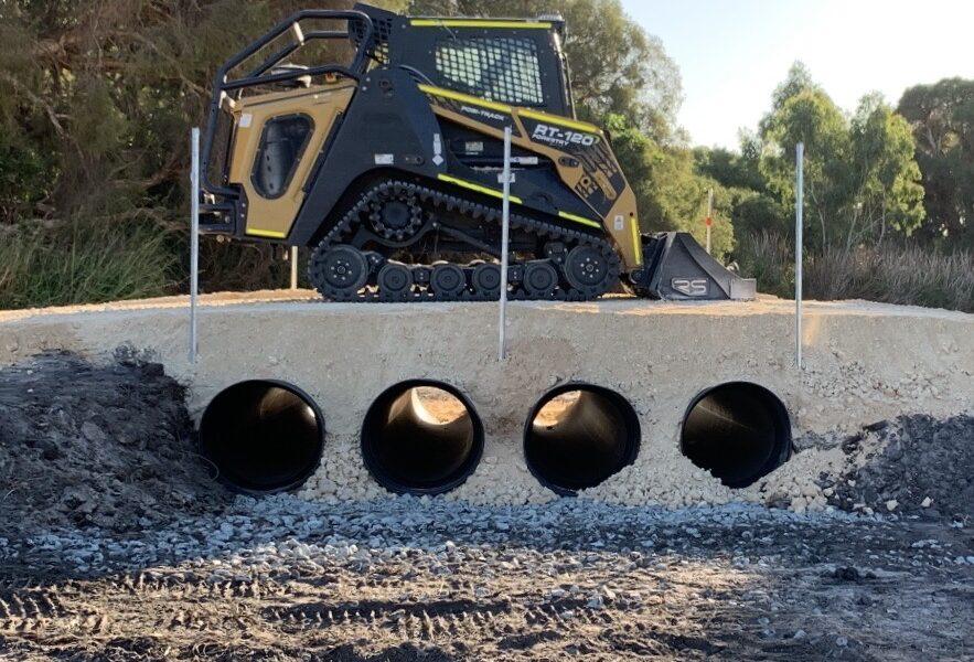 Drainage Works - High Wycombe, Western Australia